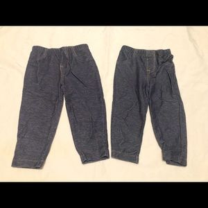 9-12 months jeggings